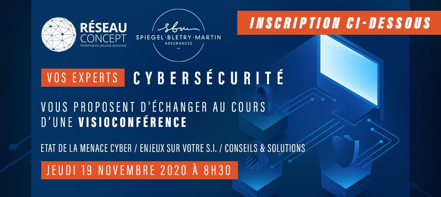 Visioconférence sur la Cybersécurité