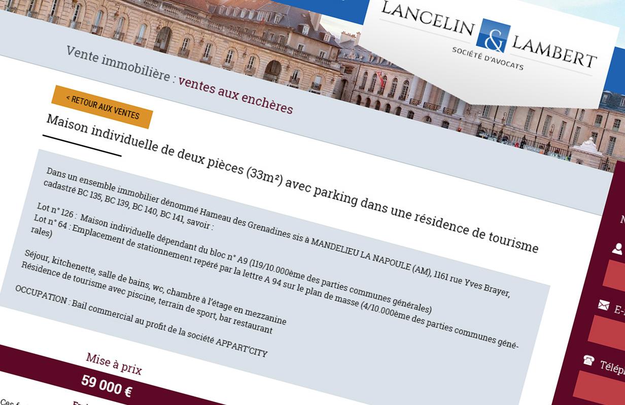 Un nouveau module de gestion immobilière pour Lancelin & Lambert