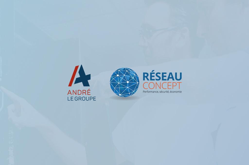 Réseau Concept et ANDRE LE GROUPE étendent leur association