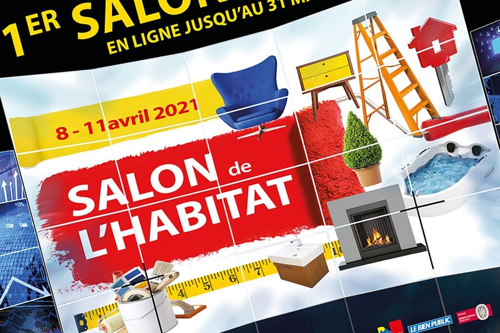 Le salon de l'habitat de Dijon en édition virtuelle